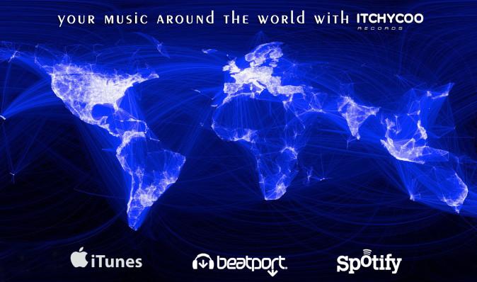 music distribution itchycoo