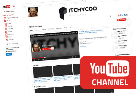 youtube itchycoo channel